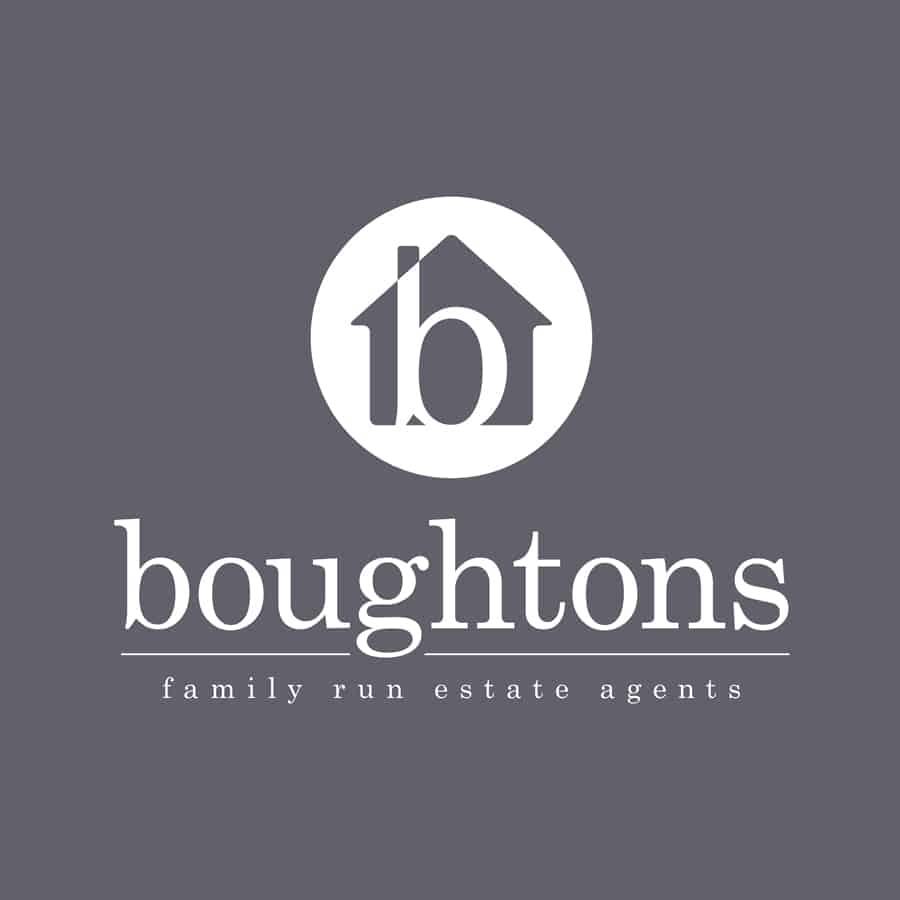 Boughtons logo design