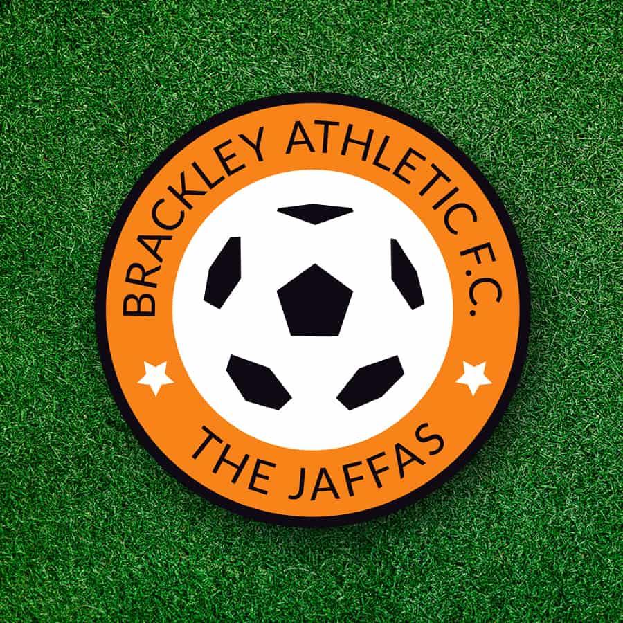 Brackley Athletic logo design