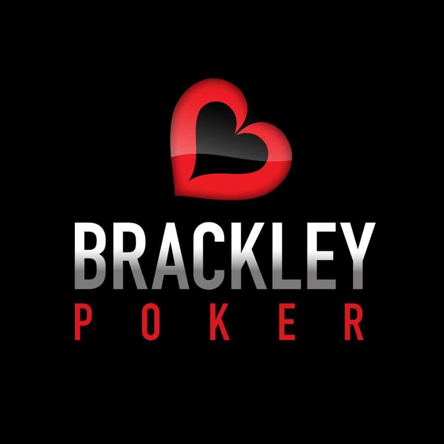 Brackley Poker logo design