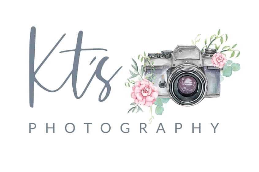 KT's Photography logo design