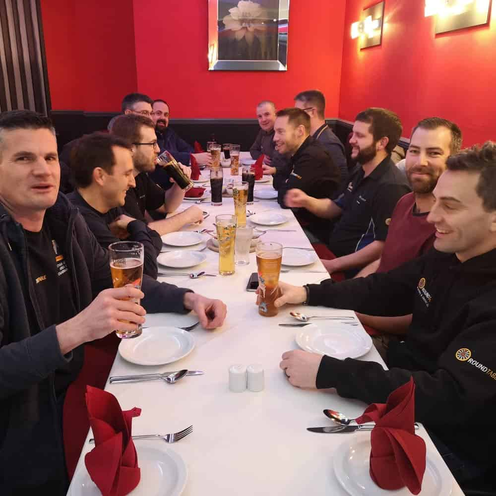 Brackley Round Table curry