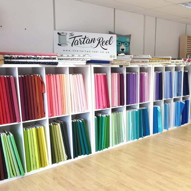 Tartan Reel fabric shop in Brackley