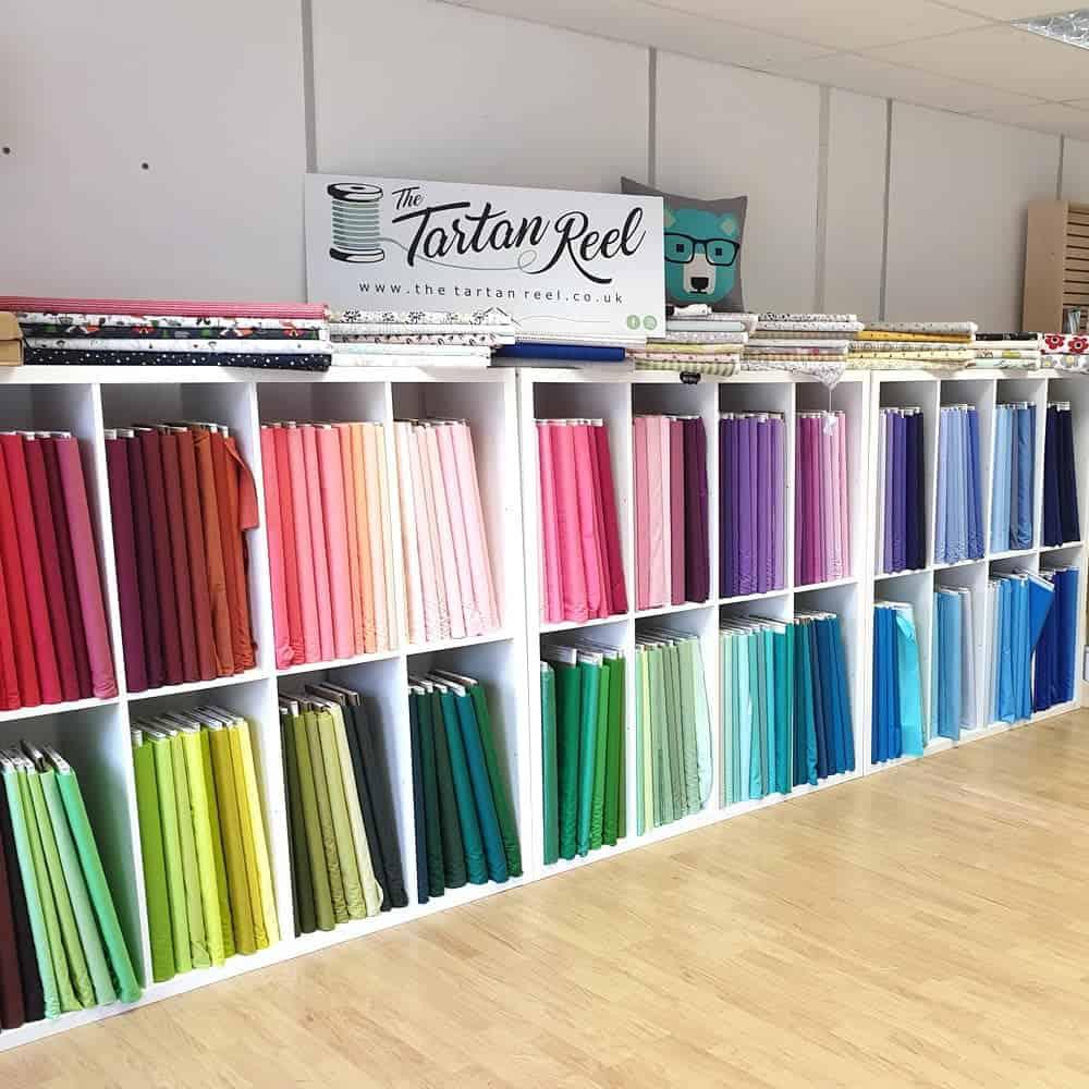 Tartan Reel fabric shop in Brackley