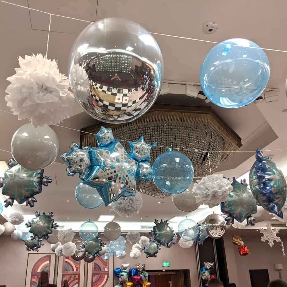 Balloon displays for events