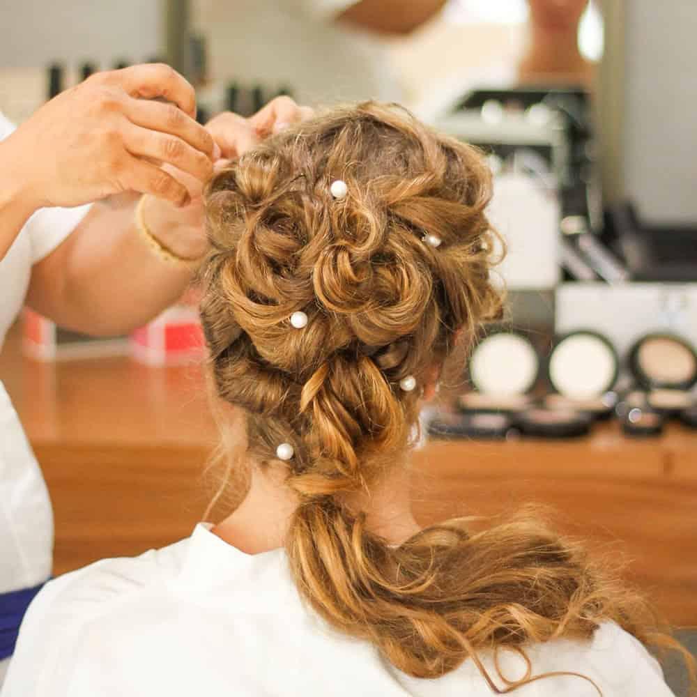 Bridal hair in Brackley