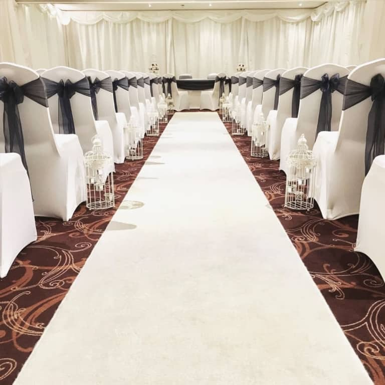 Chair cover hire - Brackley