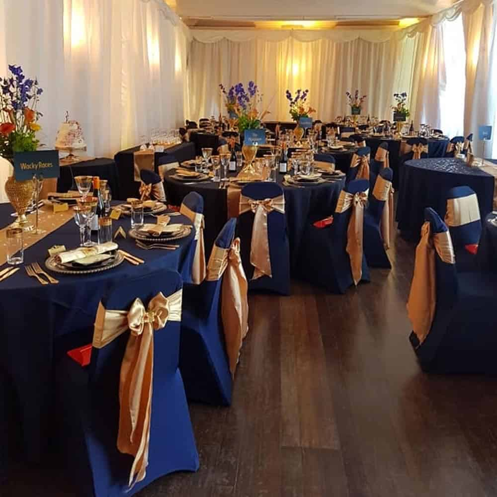 Chair covers venue