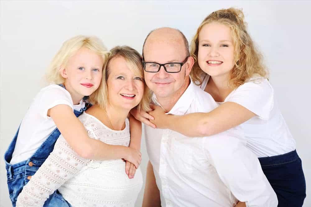 Family portrait photographer Brackley