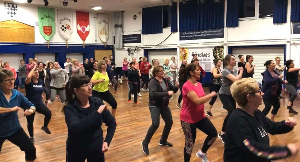 GW dance fitness lessons in Brackley
