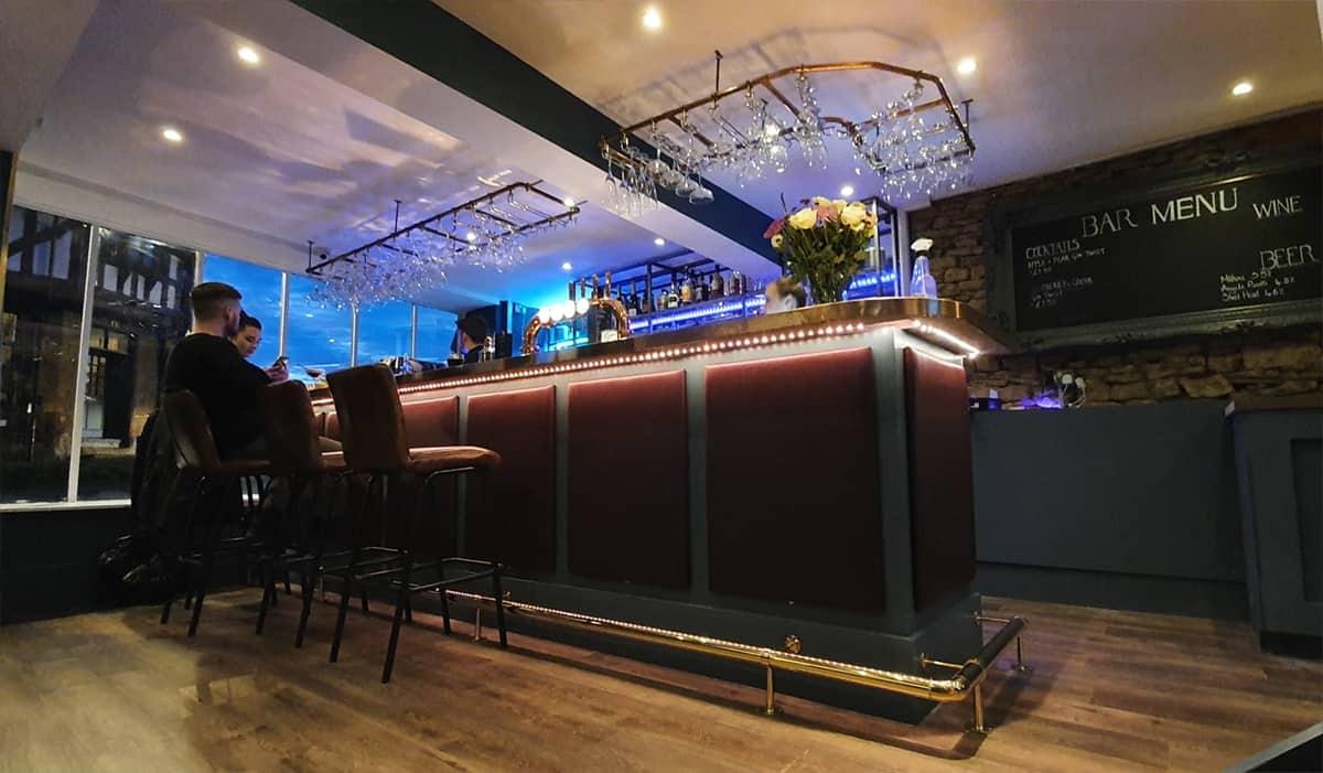 The Green Room bar in Brackley