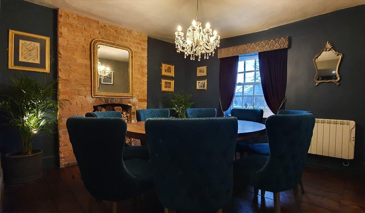The Green Room restaurant in Brackley