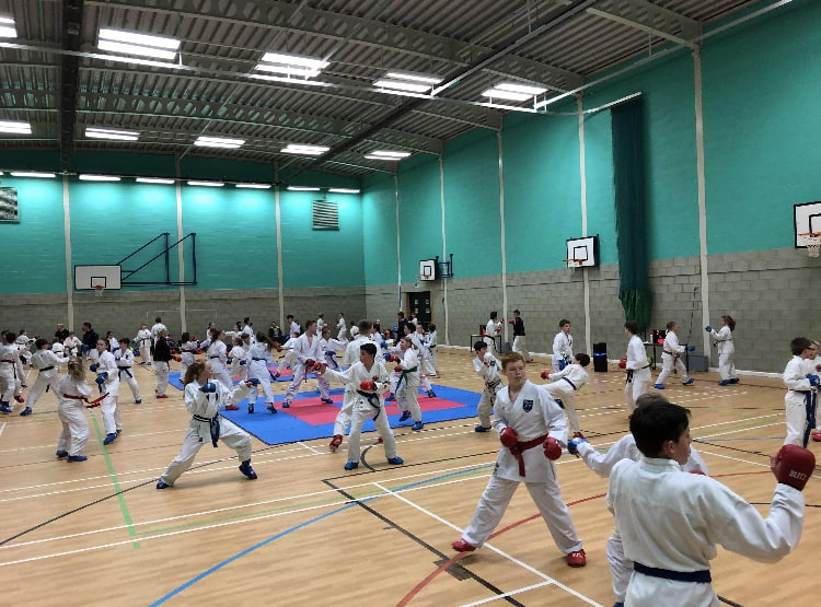 Kid's Martial Arts training in Brackley