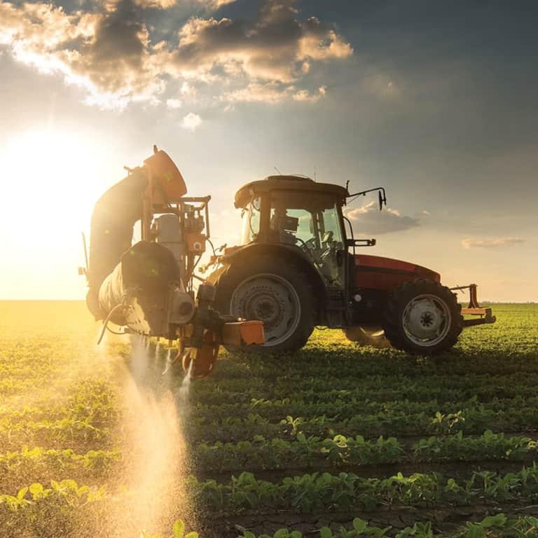 New & used farm machinery