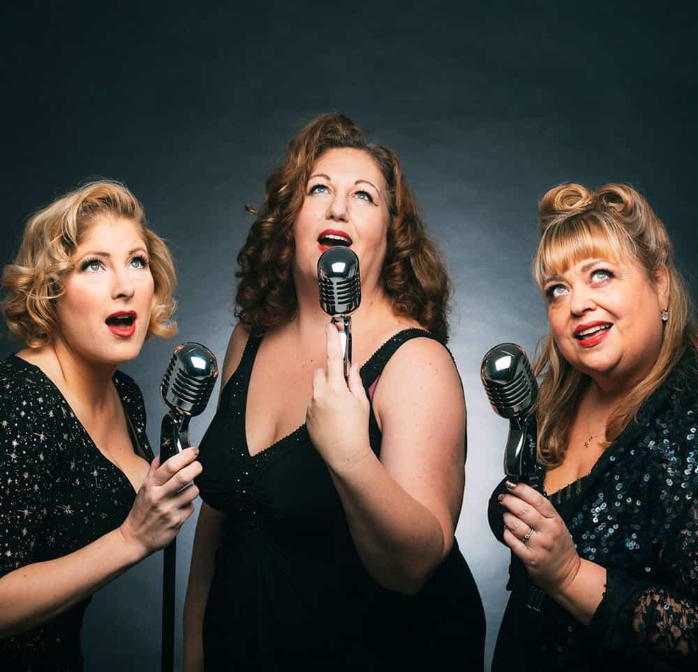 1940s Singing Trio