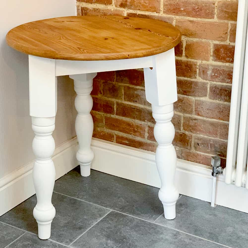 Upcycled Stool Brackley