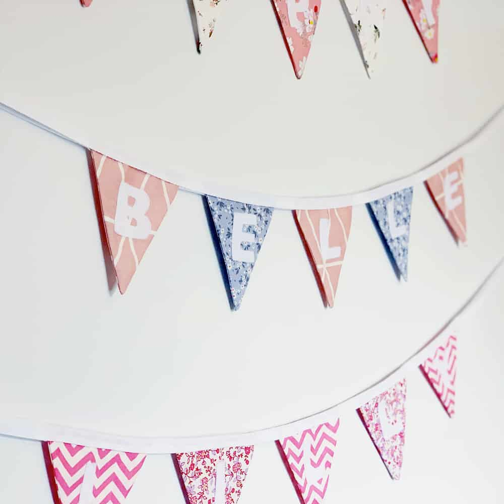 Handmade Mini Bunting Brackley