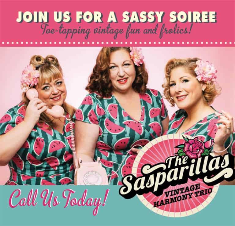 Sasparillas Vintage Harmony Trio