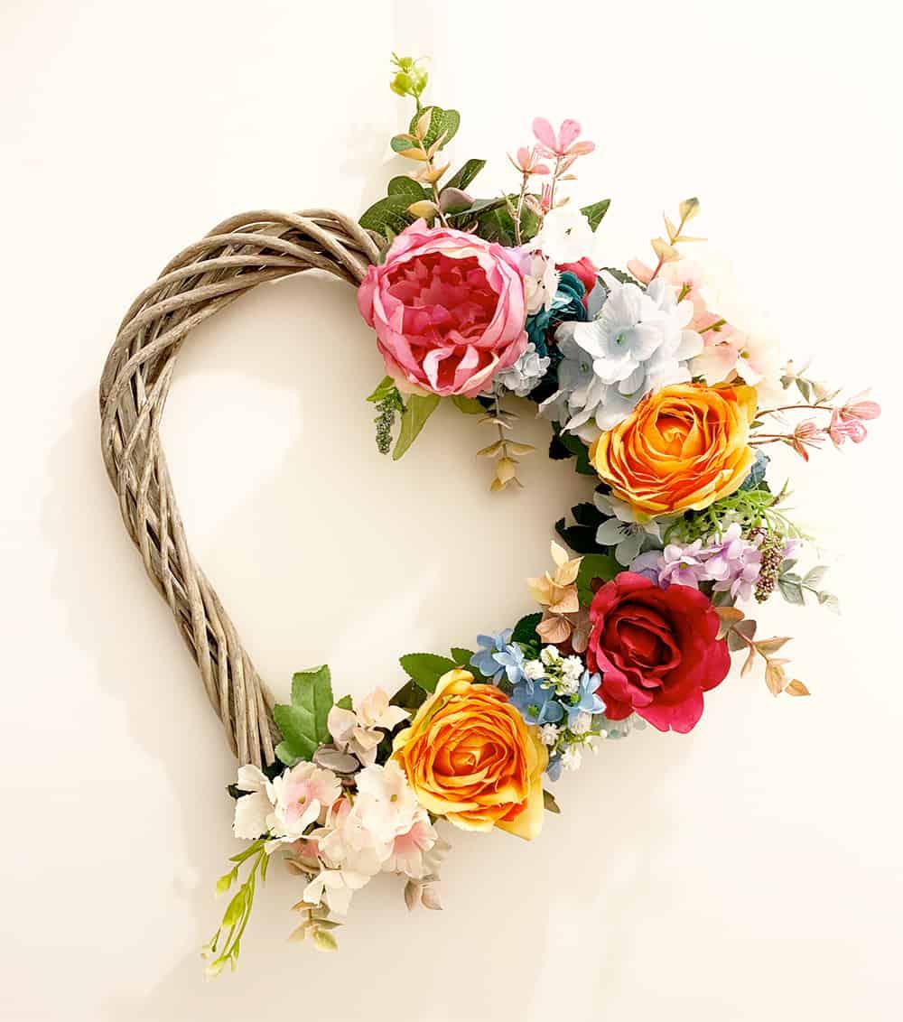Flower Faux Wreath