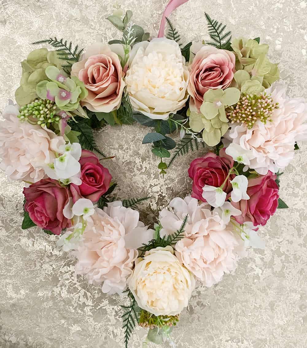 Floral Faux Wreaths
