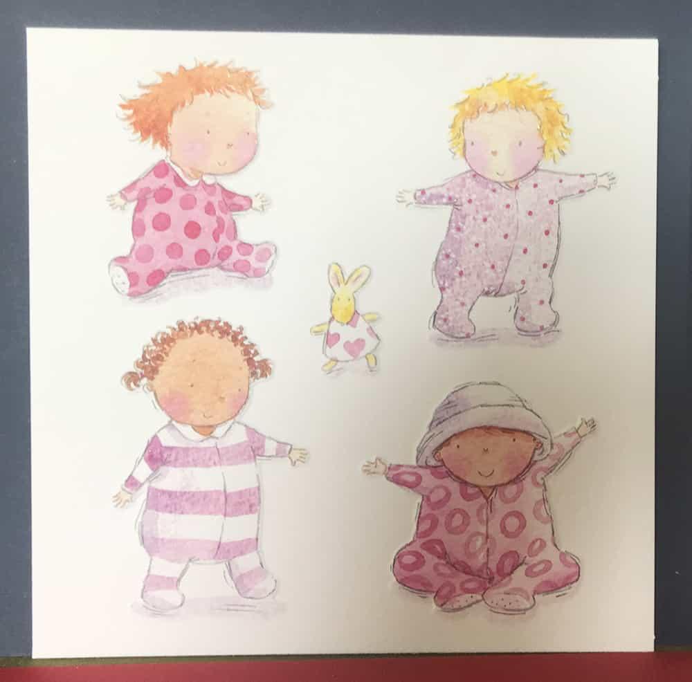 New Baby Card Brackley