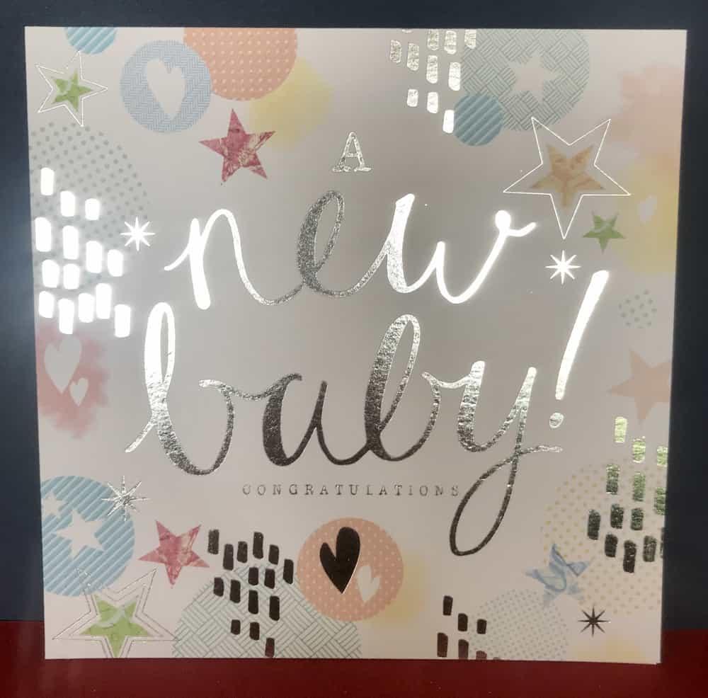 New Baby Cards Brackley