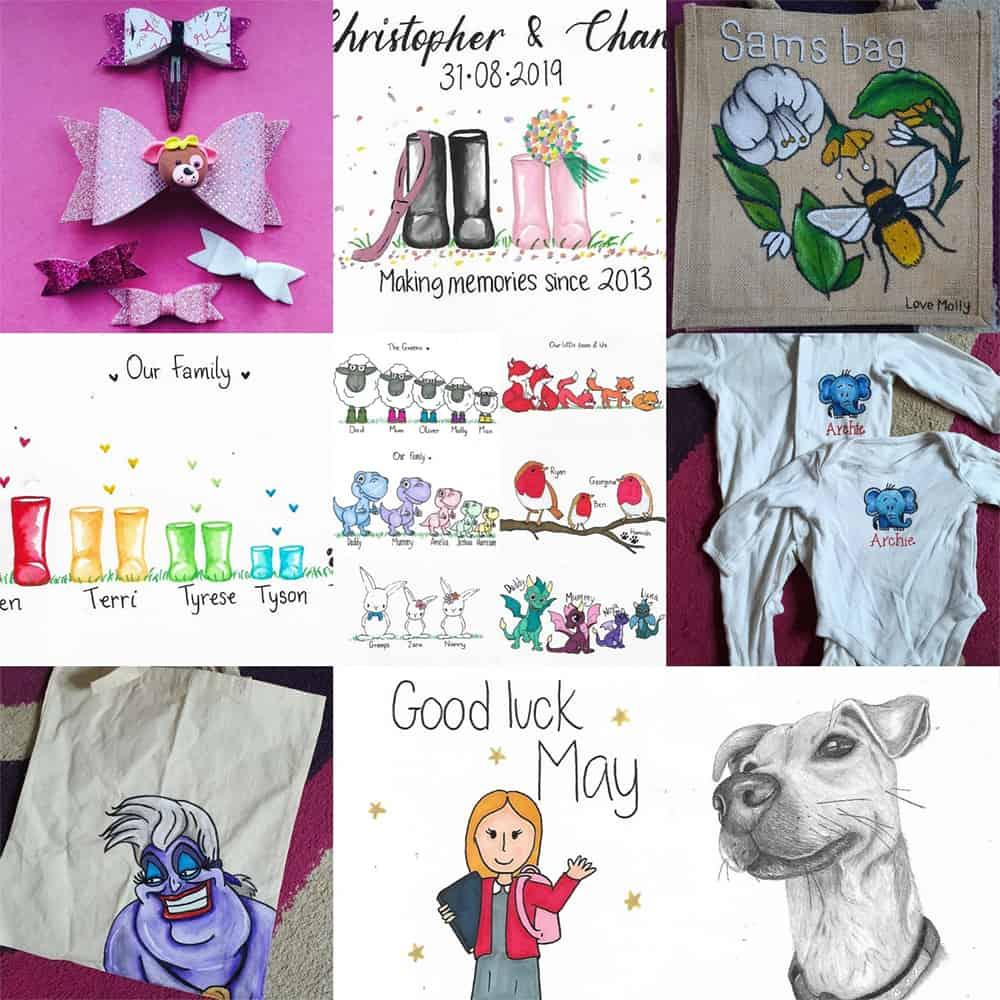 Personalised Artworks Brackley