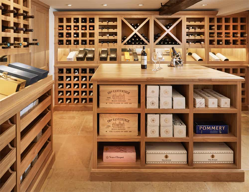 Bespoke Handmade Wine Celler Brackley