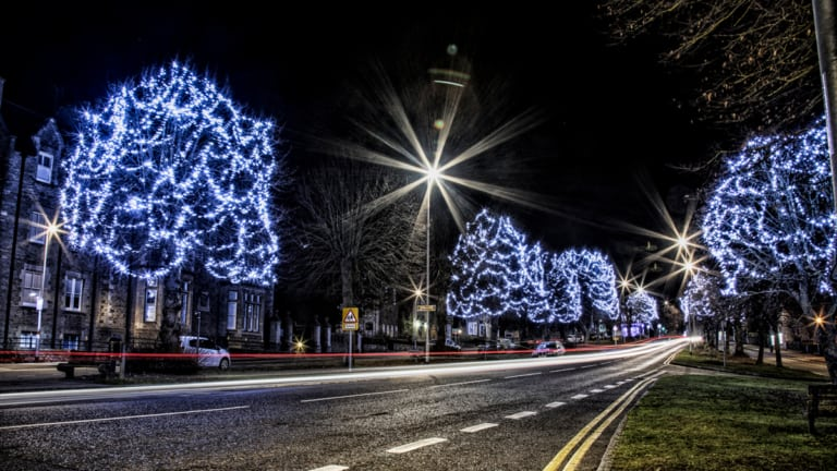 Brackley Christmas Lights