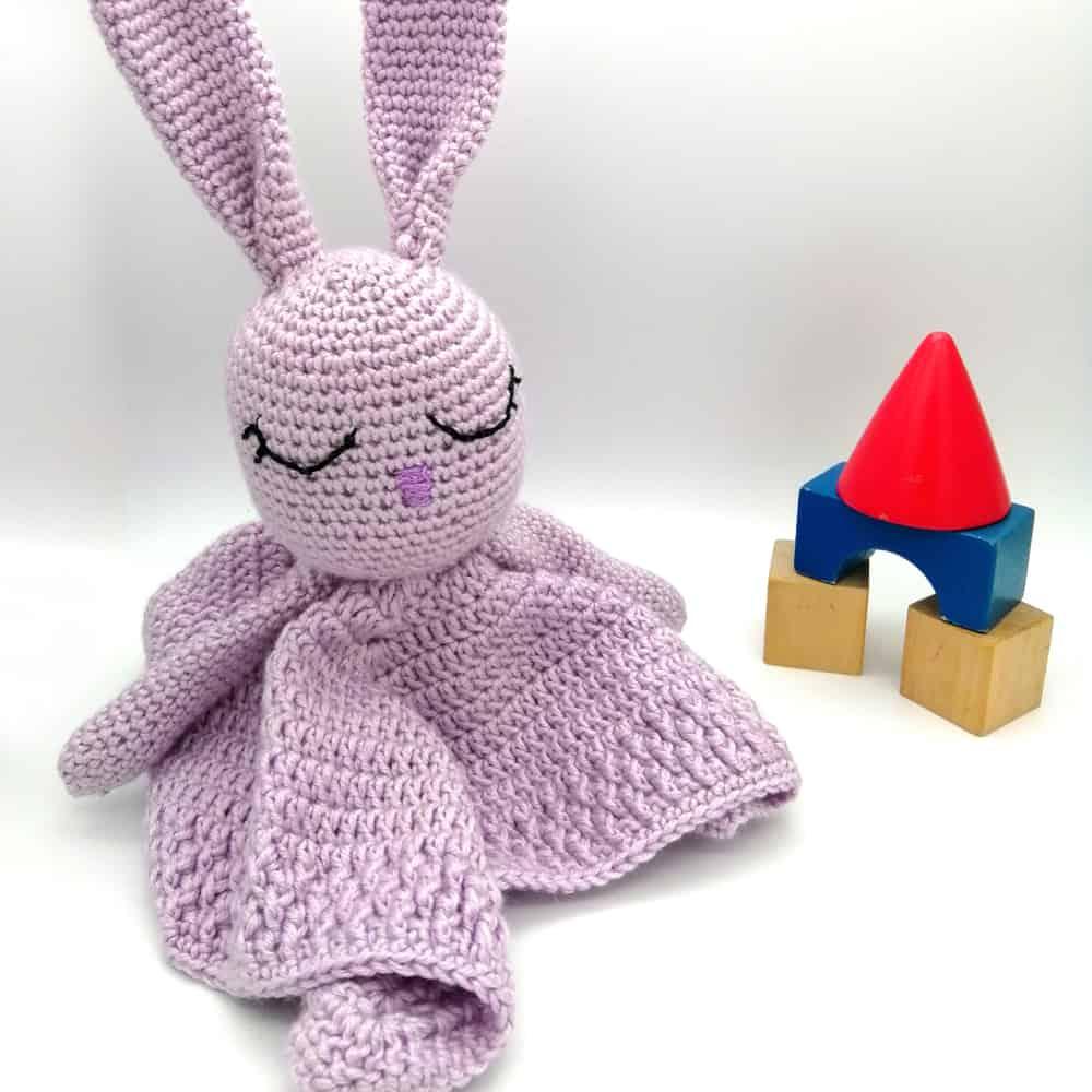 Crochet Rabbit Baby Toy