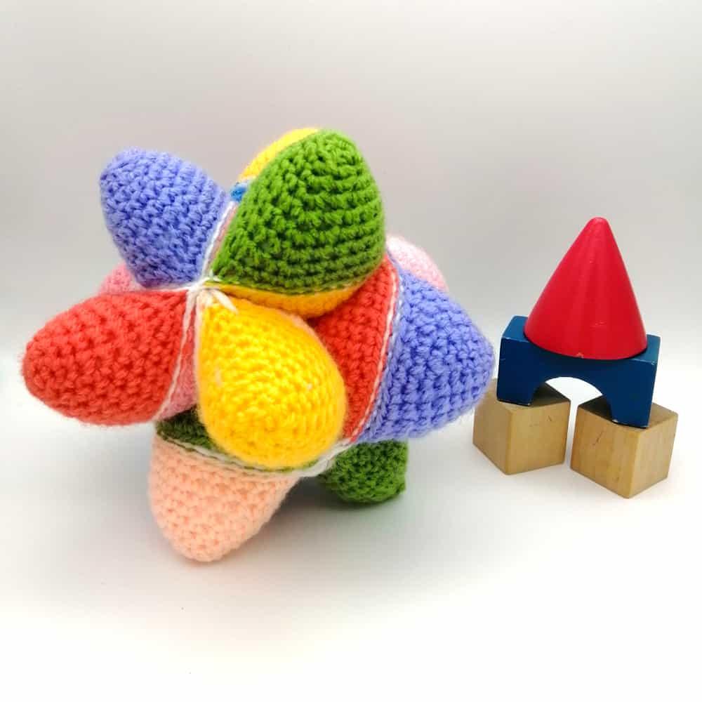 Crochet Star Baby Toy