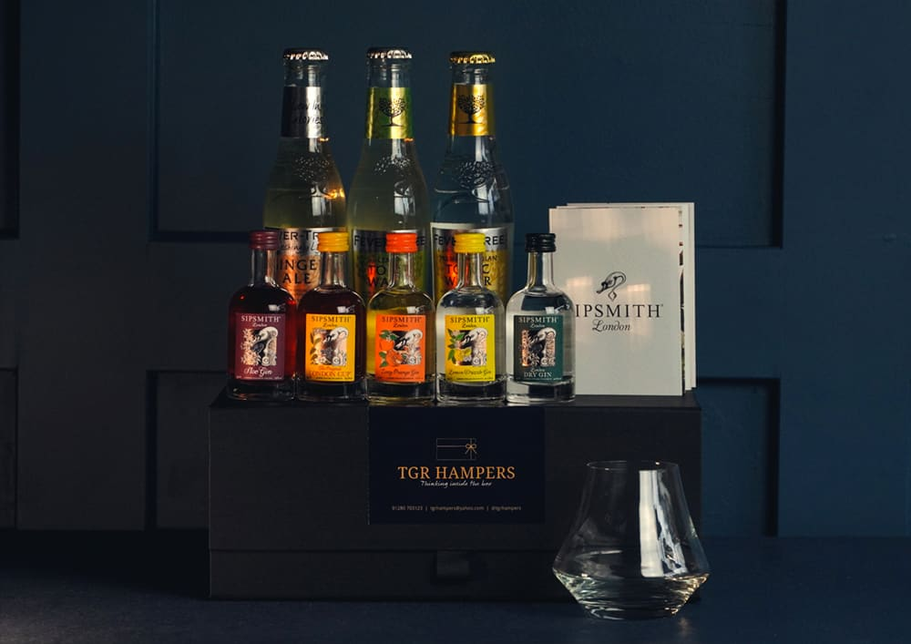 Sipsmith Gin TGR Hampers