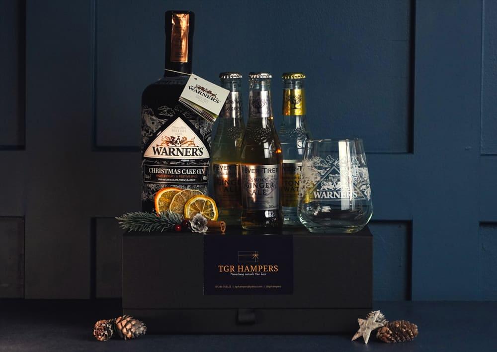 Warners Christmas Gin TGR Hamper
