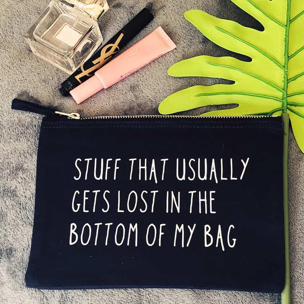 Handmade Personalised Bag