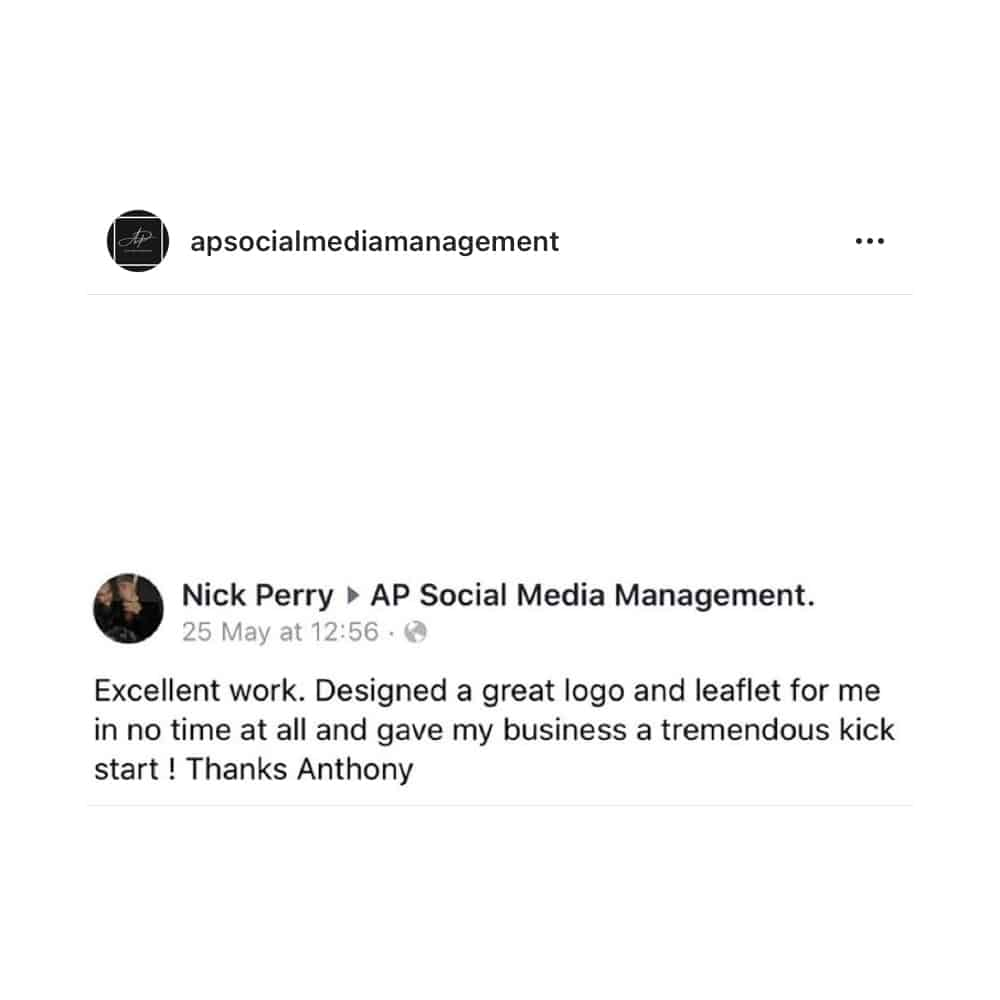 Social Media Testimonial