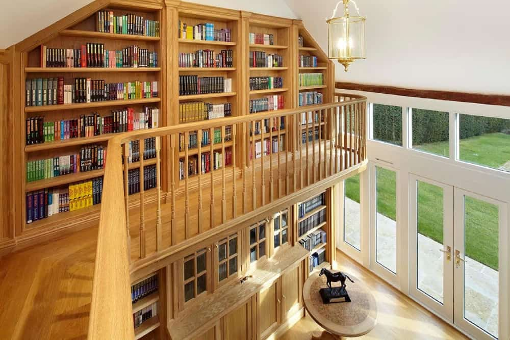 Bespoke Home Office Library