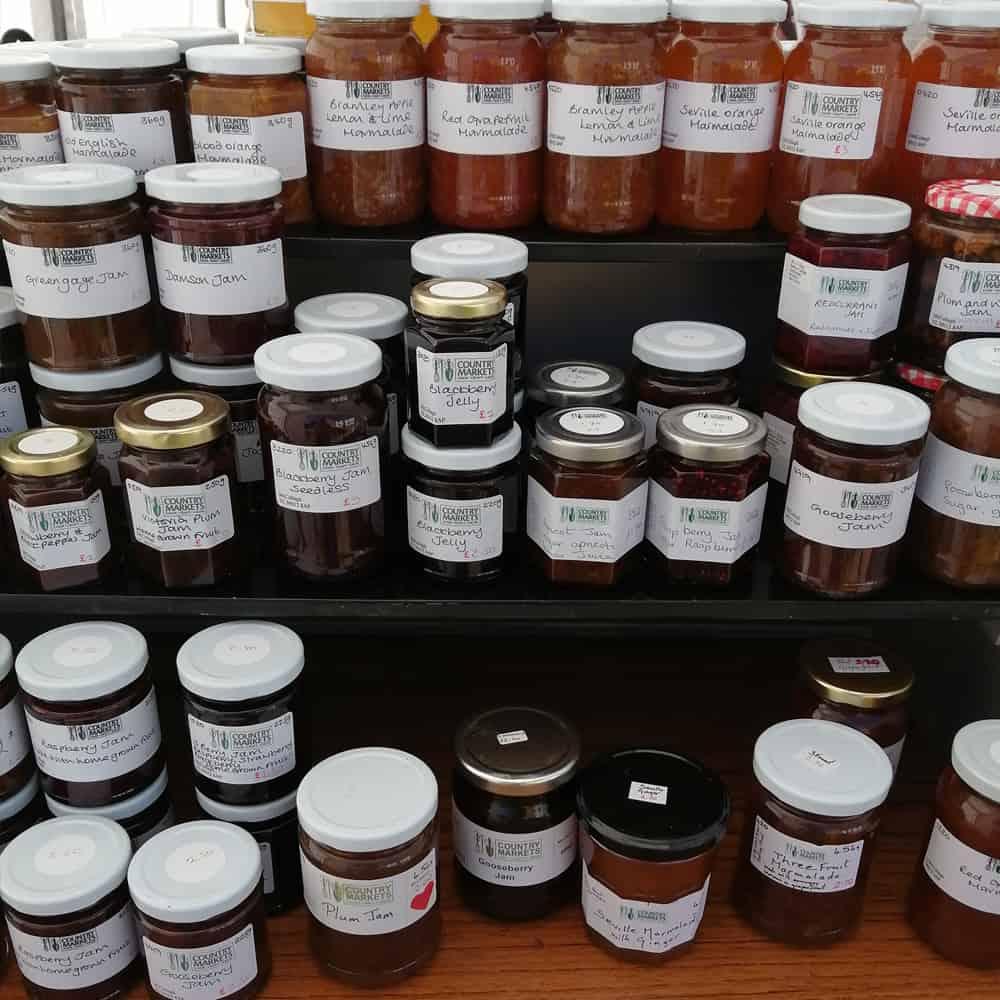 Brackley Country Market Jars