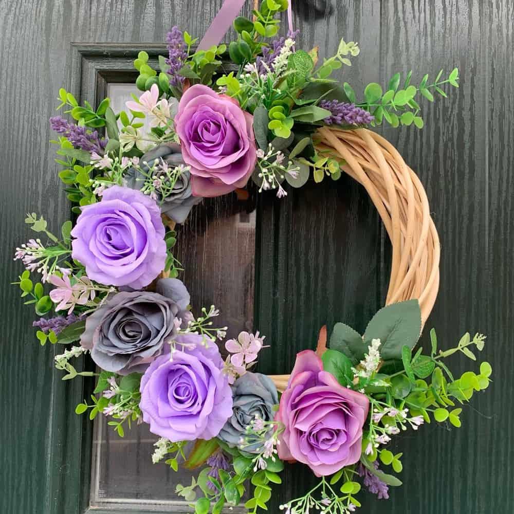 Floral Door Wreath Brackley